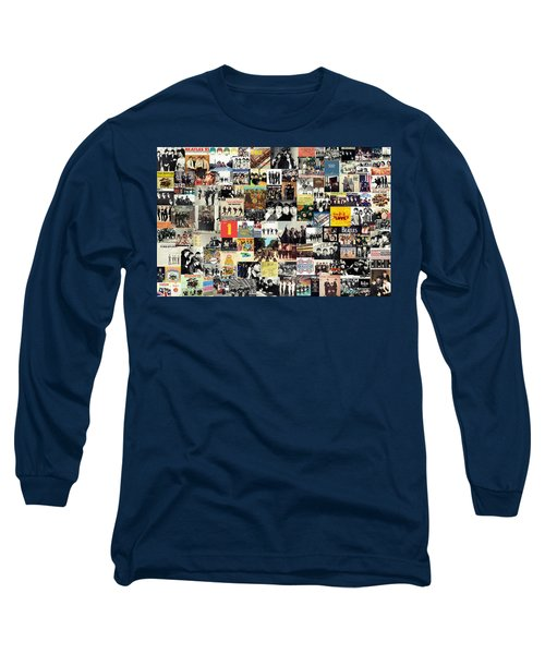 The Beatles Collage Long Sleeve T-Shirt