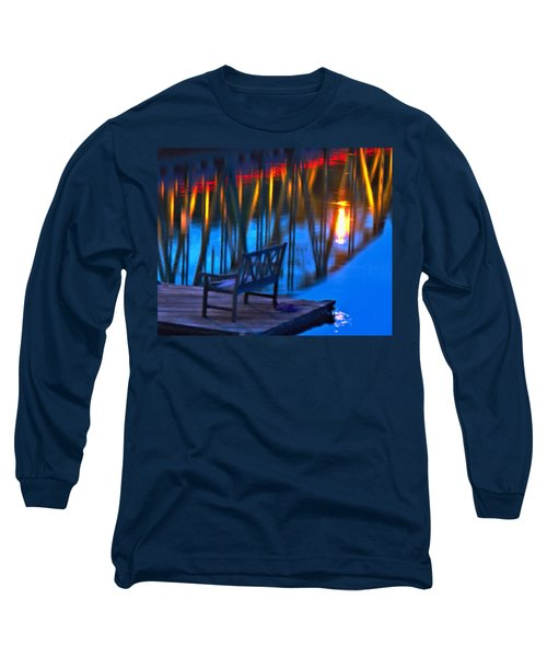 The Bidge At Sunset Long Sleeve T-Shirt