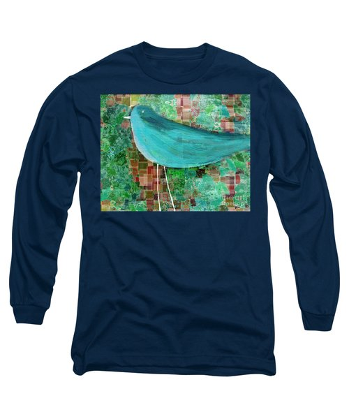The Bird - 23a1c2 Long Sleeve T-Shirt by Variance Collections