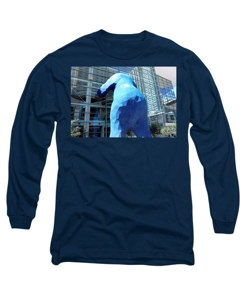 The Blue Bear Long Sleeve T-Shirt
