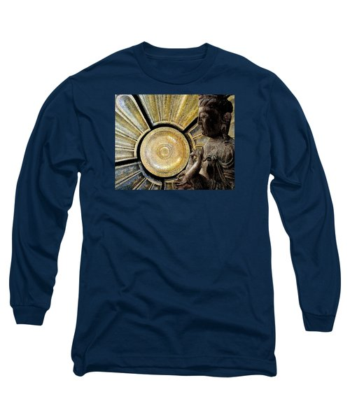 the Buddha  c2014  Paul Ashby Long Sleeve T-Shirt by Paul Ashby