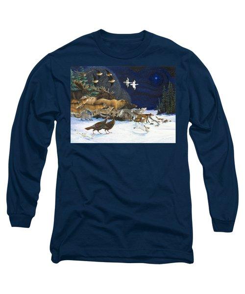 The Christmas Star Long Sleeve T-Shirt