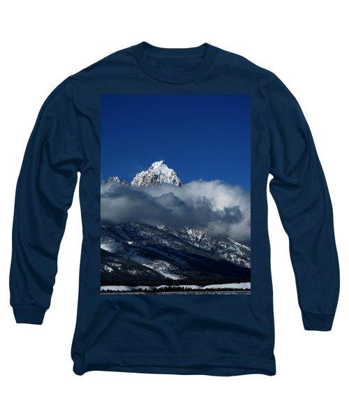 The Clearing Storm Long Sleeve T-Shirt by Raymond Salani III