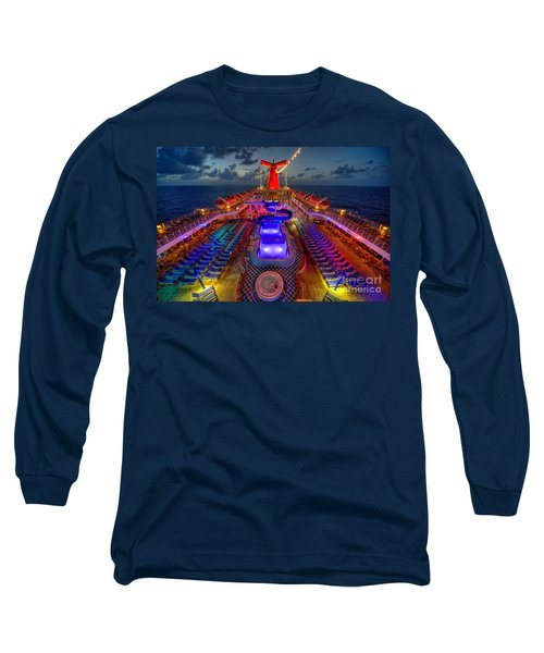 The Cruise Lights At Night Long Sleeve T-Shirt