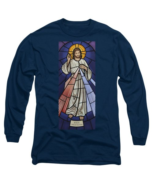 The Divine Mercy Long Sleeve T-Shirt