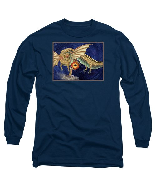 The Dragon King Long Sleeve T-Shirt by Lynda Hoffman-Snodgrass