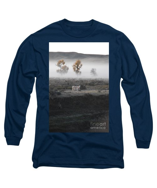 Long Sleeve T-Shirt featuring the photograph The Dream Cow Of Mourning by Brian Boyle