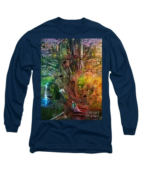 The Dreaming Tree Long Sleeve T-Shirt by Aimee Stewart