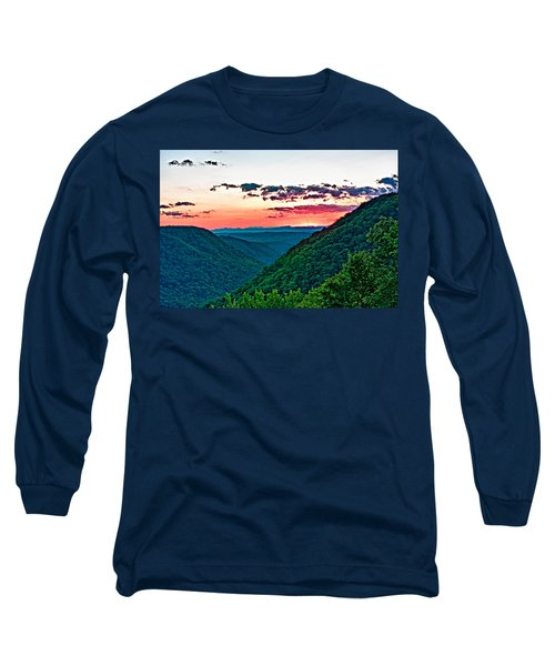 The Far Hills 2 Long Sleeve T-Shirt by Steve Harrington