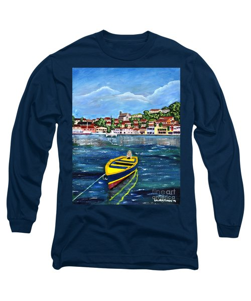 The Fishing Boat  Long Sleeve T-Shirt