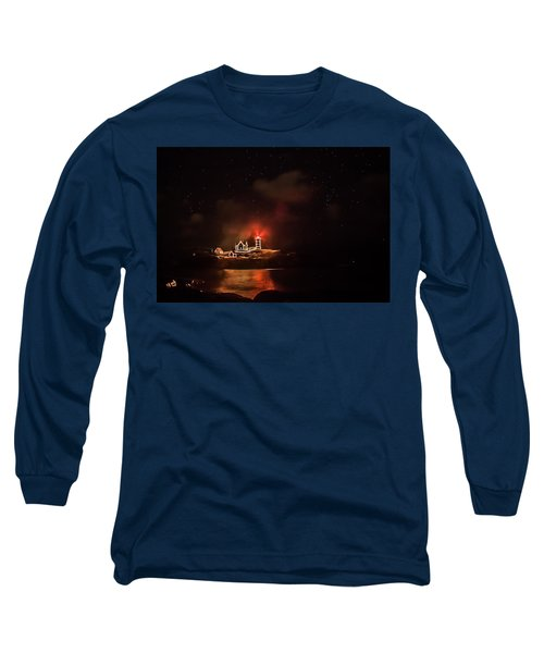 Long Sleeve T-Shirt featuring the photograph The Fog Rolls In by Jeff Folger