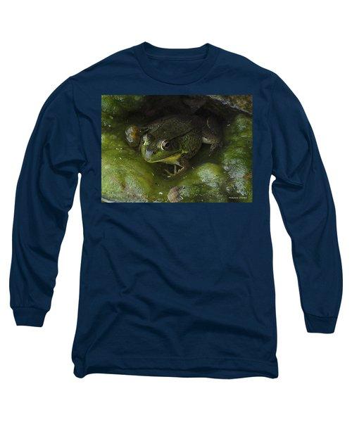 The Frog Long Sleeve T-Shirt by Verana Stark