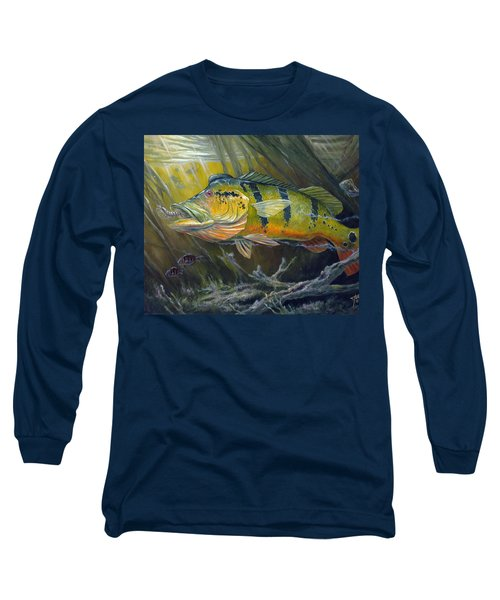 The Great Peacock Bass Long Sleeve T-Shirt