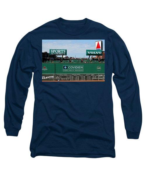 The Green Monster 99 Long Sleeve T-Shirt by Tom Prendergast