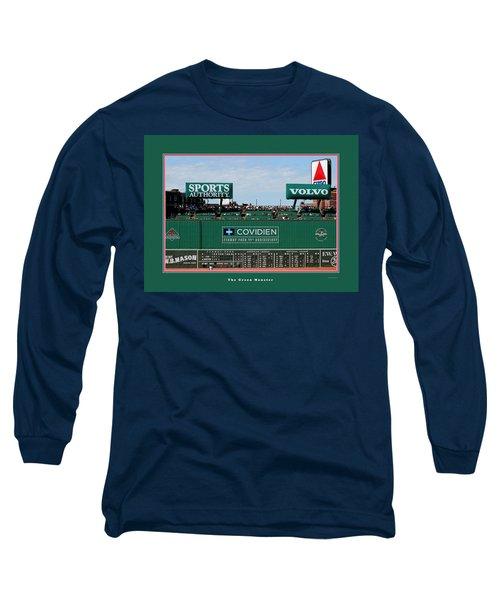 The Green Monster Fenway Park Long Sleeve T-Shirt by Tom Prendergast