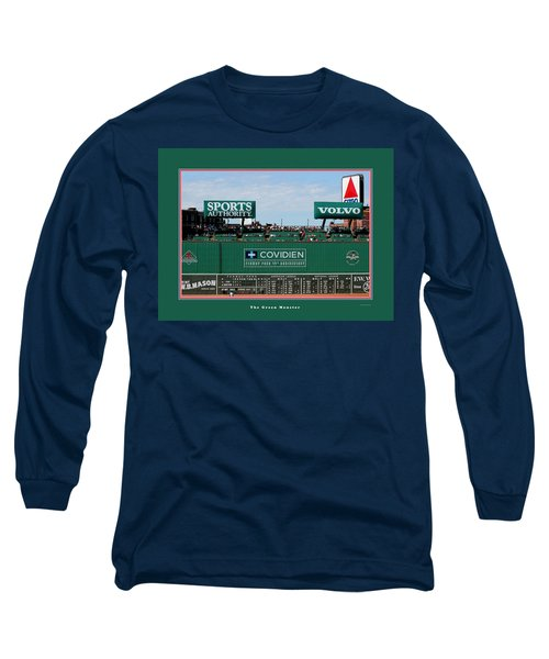 The Green Monster Fenway Park Long Sleeve T-Shirt