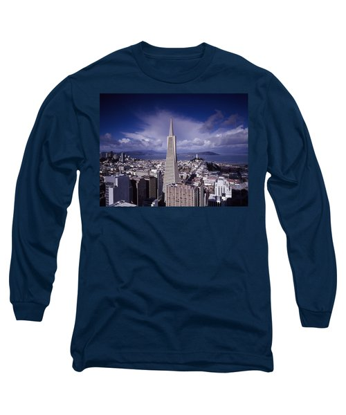 The Heart Of San Francisco Long Sleeve T-Shirt by Mountain Dreams