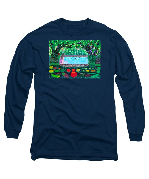 The Hidden Water Long Sleeve T-Shirt by Lorna Maza