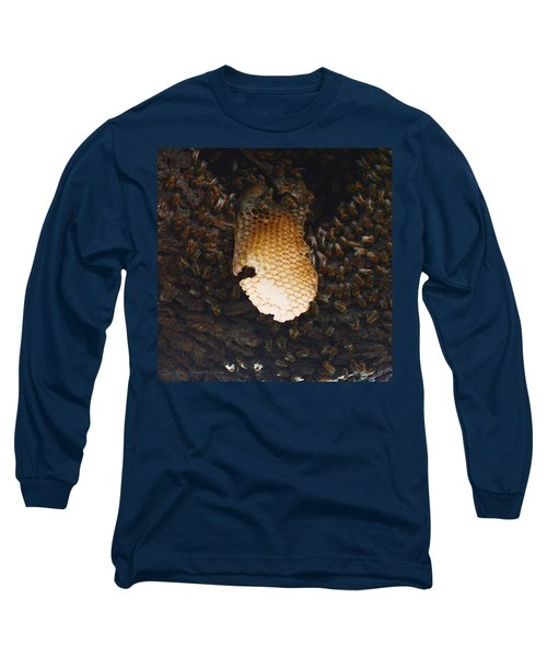 The Hive  Long Sleeve T-Shirt by Shawn Marlow