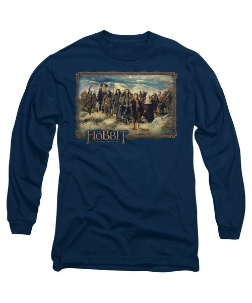 The Hobbit - Hobbit And Company Long Sleeve T-Shirt