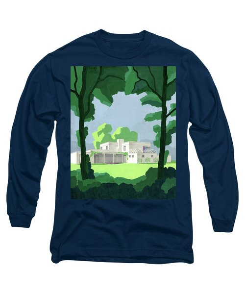 The Ideal House In House And Gardens Long Sleeve T-Shirt
