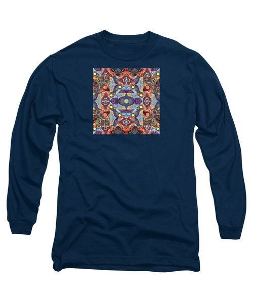 The Joy Of Design Mandala Series Puzzle 1 Arrangement 1 Long Sleeve T-Shirt