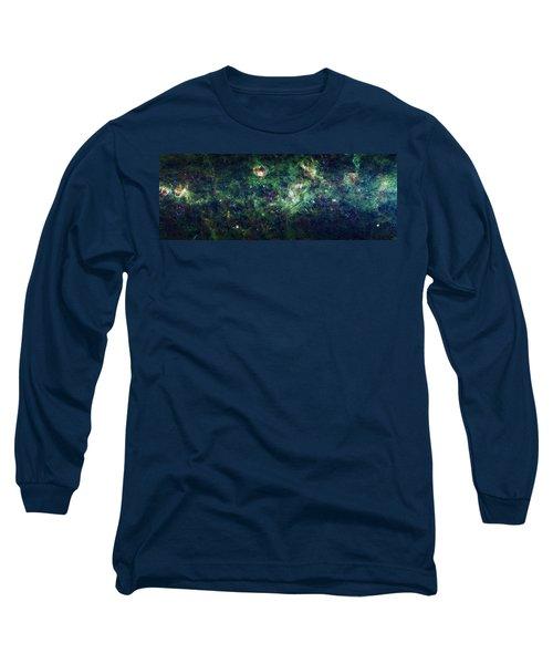 The Milky Way Long Sleeve T-Shirt by Adam Romanowicz