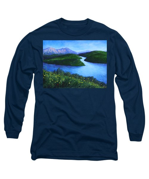 The Mountains Beyond Long Sleeve T-Shirt by Penny Birch-Williams