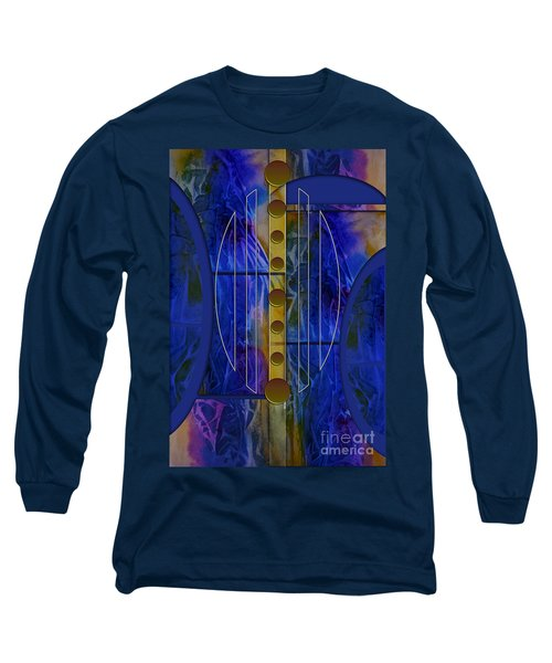 The Musical Abstraction Long Sleeve T-Shirt