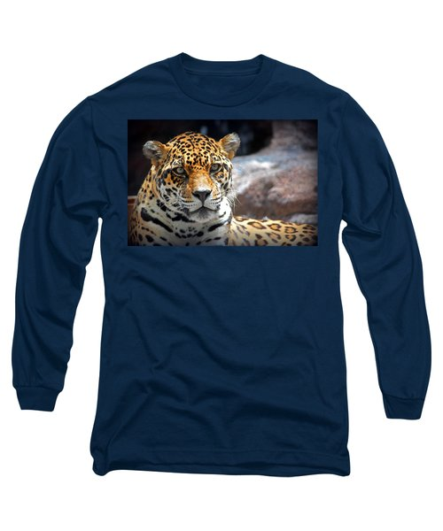 The Ole Leopard Don't Change His Spots Long Sleeve T-Shirt by Lynn Sprowl