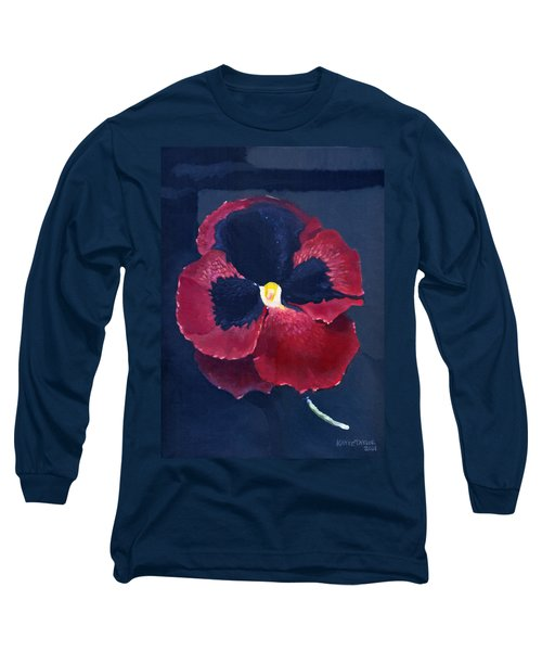 The Pansy Long Sleeve T-Shirt