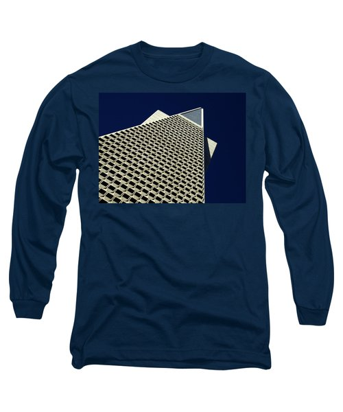 The Pyramid Long Sleeve T-Shirt by Bill Gallagher