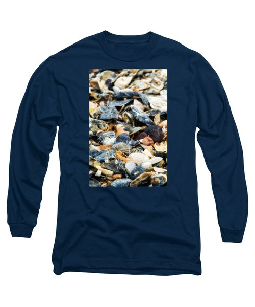 Long Sleeve T-Shirt featuring the photograph The Raw Bar by Joan Davis
