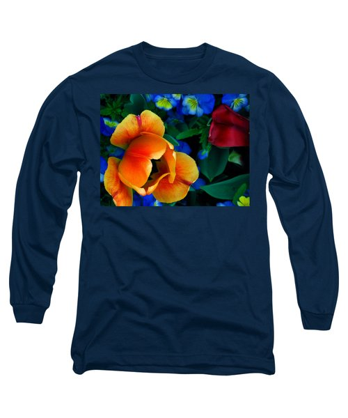The Secret Life Of Tulips Long Sleeve T-Shirt by Rory Sagner
