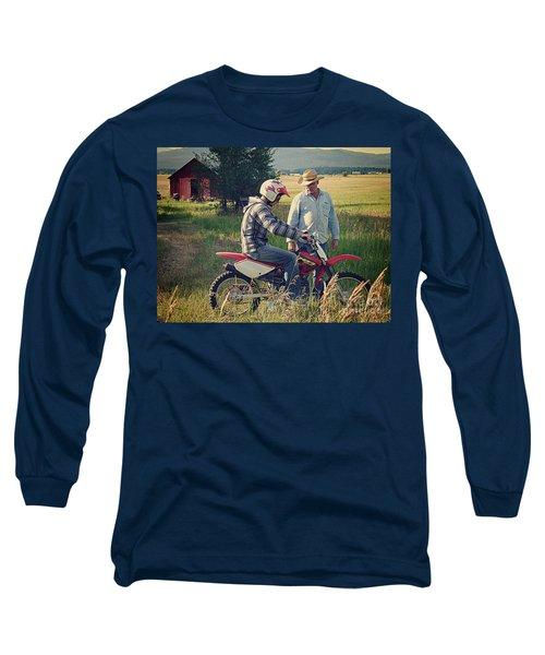 Long Sleeve T-Shirt featuring the photograph The Teacher by Meghan at FireBonnet Art