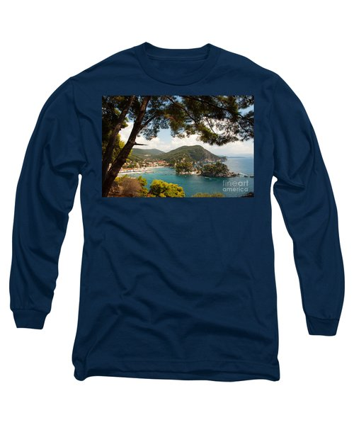 The Town Of Parga - 2 Long Sleeve T-Shirt