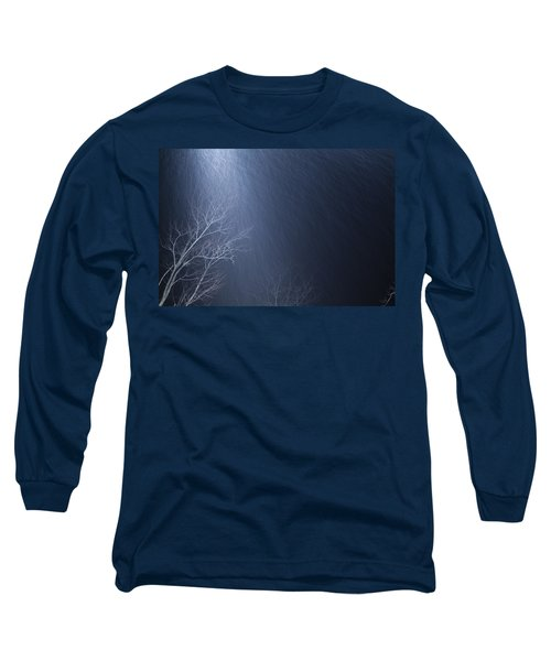 The Tree Under The Snowfall Long Sleeve T-Shirt