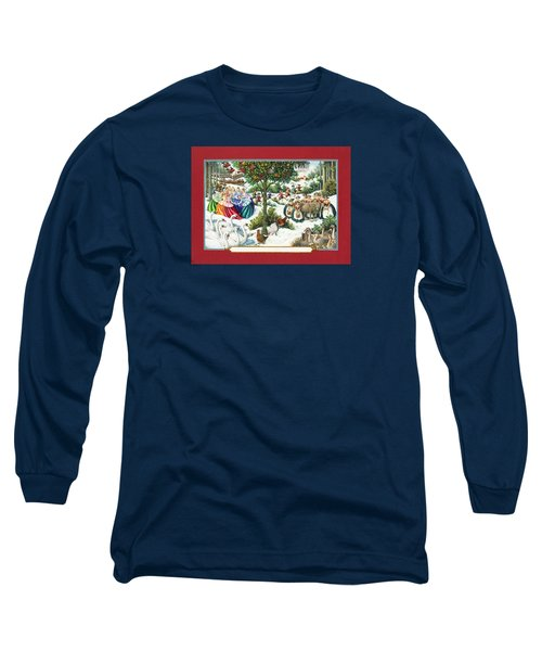 The Twelve Days Of Christmas Long Sleeve T-Shirt