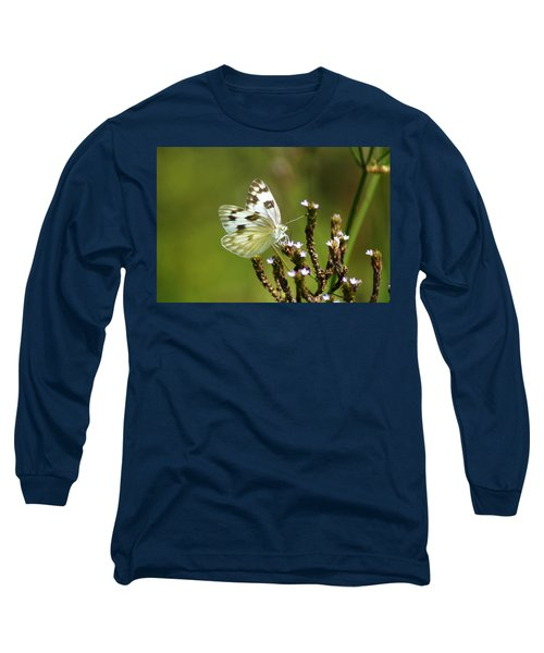 The Western White Long Sleeve T-Shirt
