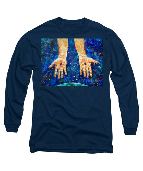 The Whole World In His Hands Long Sleeve T-Shirt