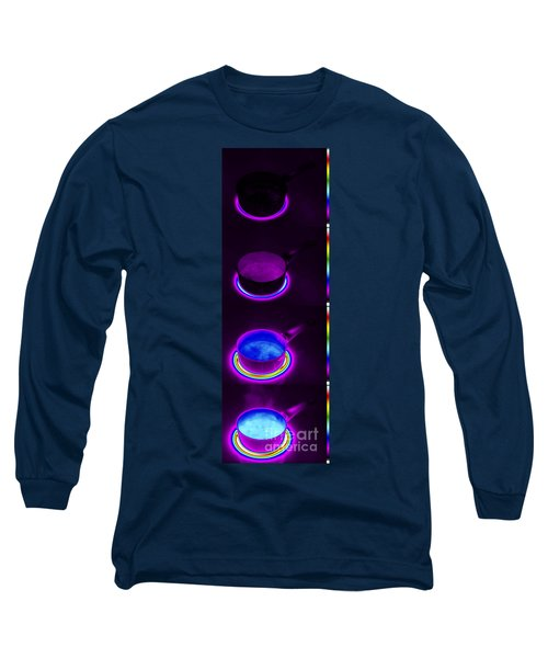 Thermograms Of Heating Up Water Long Sleeve T-Shirt