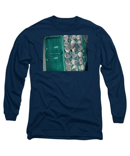 Long Sleeve T-Shirt featuring the painting They Asked Me For Omelettes by Jeffrey S Perrine