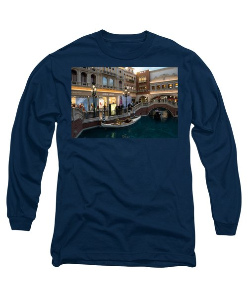 It's Not Venice - The White Wedding Gondola Long Sleeve T-Shirt