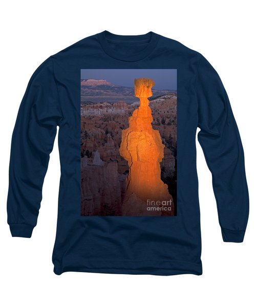 Thors Hammer Sunset Point Bryce Canyon National Park Long Sleeve T-Shirt