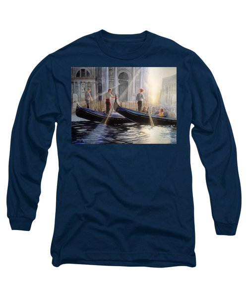 Three Gondoliers Long Sleeve T-Shirt