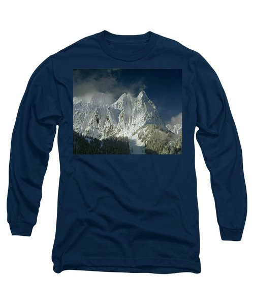 1m4503-three Peaks Of Mt. Index Long Sleeve T-Shirt