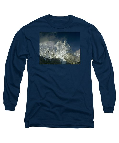 1m4503-three Peaks Of Mt. Index Long Sleeve T-Shirt