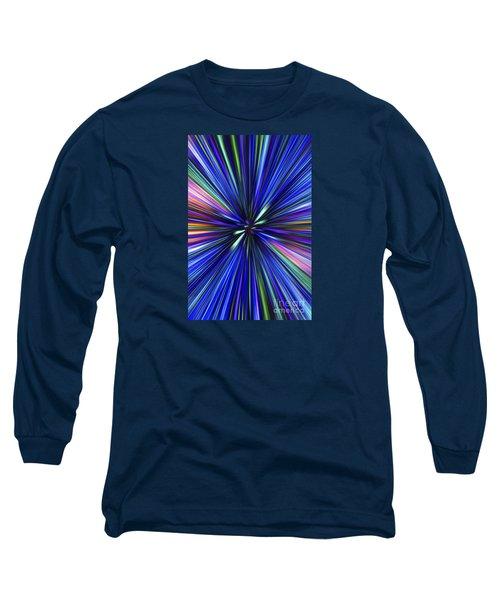 Through The Wormhole.. Long Sleeve T-Shirt by Nina Stavlund