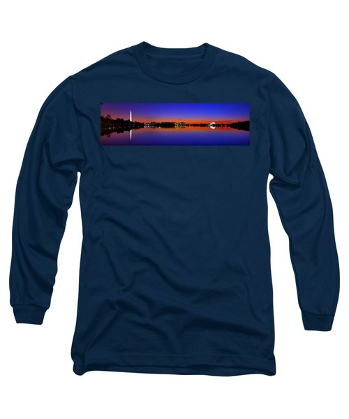 Tidal Basin Sunrise Long Sleeve T-Shirt