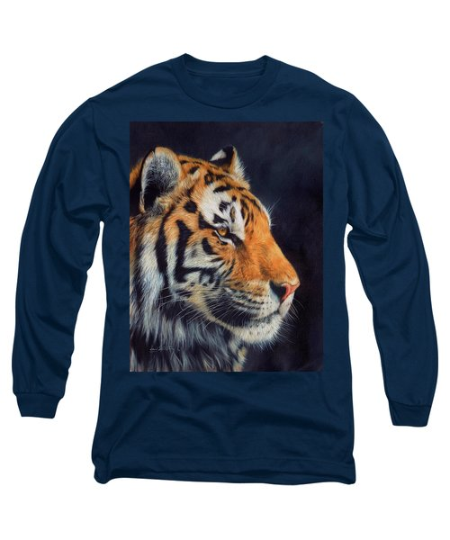 Tiger Profile Long Sleeve T-Shirt
